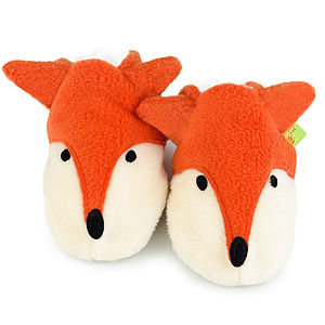 Fox Soft Baby Shoes - personalised