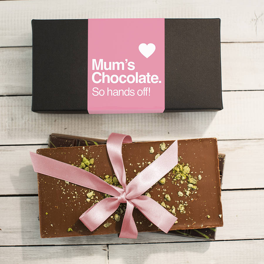 Mother S Day Chocolate Bar Box Set
