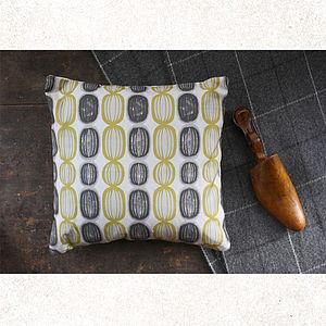 Melon Cushion - patterned cushions