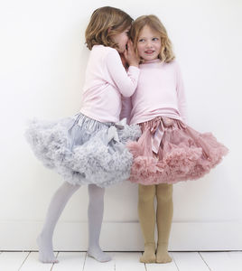 Child's Chiffon Tutu Skirt - gifts for children