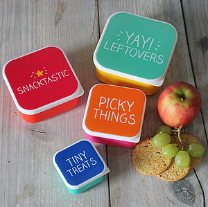 Mini Snack Boxes - lunch boxes & bags