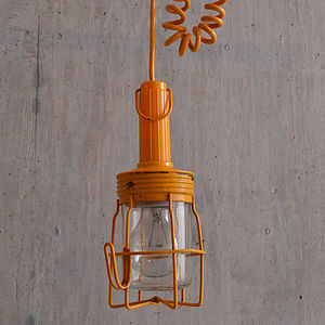 Hanging 'Cage' Lamp - ceiling lights