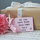 Mother's Day Pastel Pink Tag