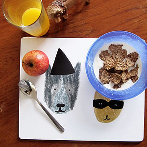Kids Place Mat, Triangle Hat