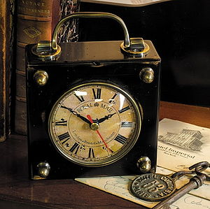 Royal Mail Carriage Clock - kitchen