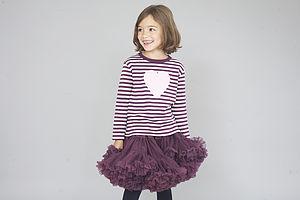 Plum Tutu Skirt - children's parties