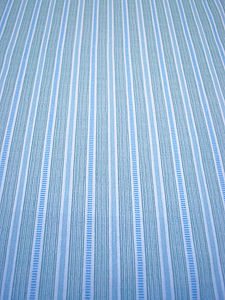 Ledbury Blue Wipeable Tablecloth Fabric By The Metre