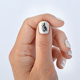 Bunny Nail Transfers - easter