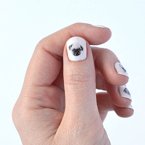 Dog Nail Transfers - gifts for her