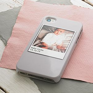 Personalised Polaroid Photo Phone Case - gifts for mothers