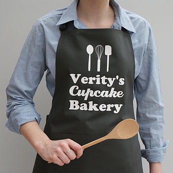 Personalised 'Your Bakery' Apron
