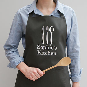 Personalised My Kitchen Apron - kitchen accessories