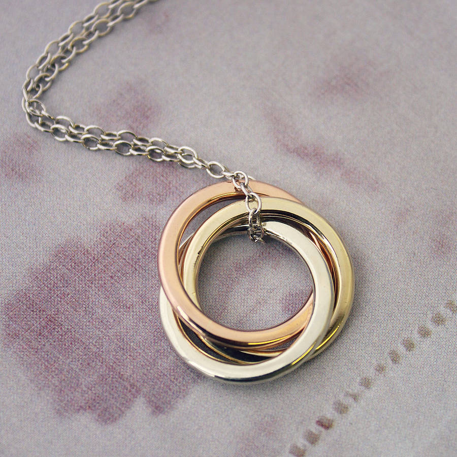 silver jewellery bonas oliver oyo ring necklace triple