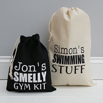 Personalised Sports Or Gym Bag