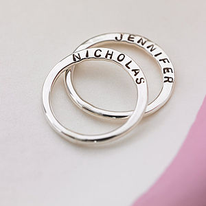 Personalised Verse Ring - men's jewellery