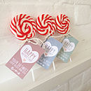 Personalised Mother's Day Swirl Lollipop
