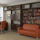 Bookcase Self Adhesive Wall Mural