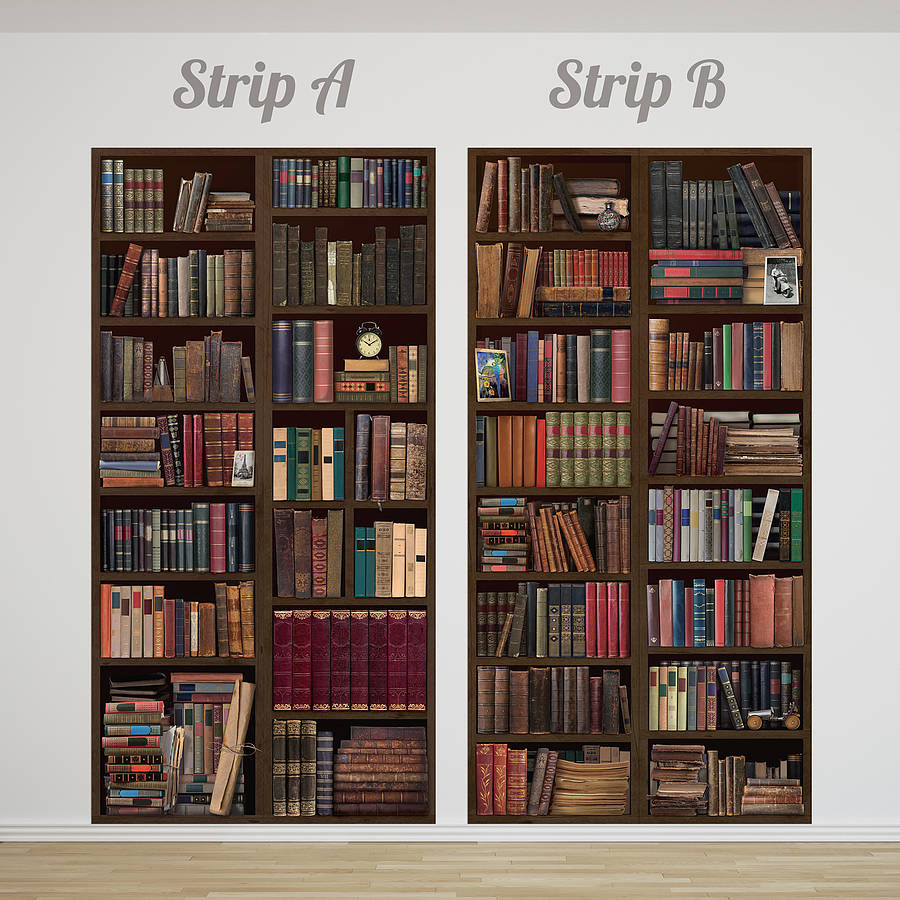 Bookcase Wallpaper Impremedia Net # Bibliotheque Mural