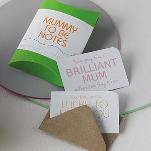Mummy To Be Notes