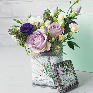 Flower Tin - best gifts for mothers