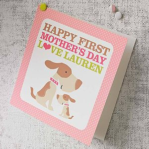 First Mother's Day Card - gifts for new mums
