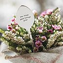 Personalised Plant Marker And Seeds