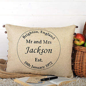Wedding Gift Cushion