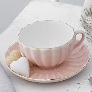 Belle Teacup And Saucer - gifts for mothers