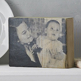 Personalised Family Photo Wood Block - view all mother's day gifts