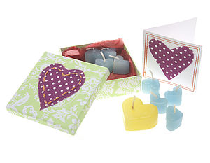 A Box Of Candles And A Card - home