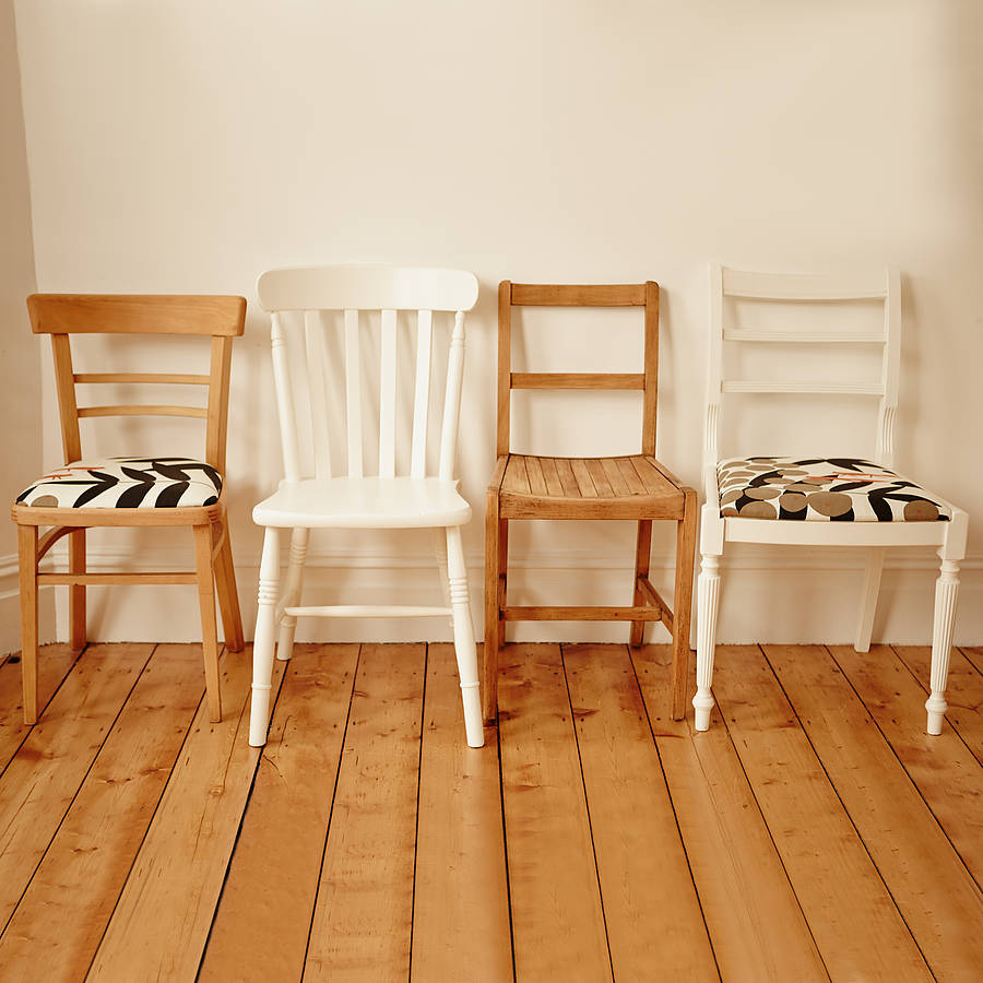 mismatched dining chair set one by deja ooh