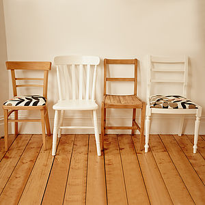 Foxy Mismatched Dining Chair Set - chairs