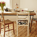 Foxy Mismatched Dining Chair Set