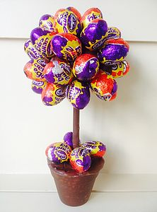 Cadbury's Creme Mini Egg Tree - chocolates
