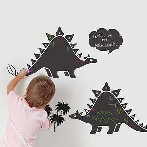 Chalkboard Alphabet Dinosaur Wall Stickers - kitchen
