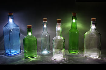 Rechargeable Cork Bottle Stopper Light