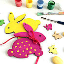 Set Of Paint Your Own Bunny Decorations Sale