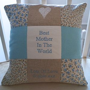 Best Mother Cushion - gifts for the home