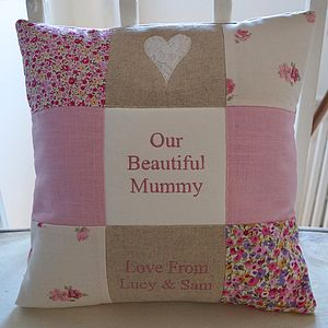 Our Special Mummy Cushion - gifts for the home