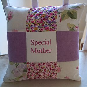 Special Mother Cushion Pink And Purple