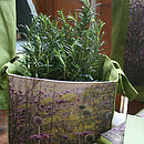 Meadow Storage Cube With Thyme Plant Gift Set