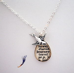 Joy In The Journey Pendant Inspiring Words