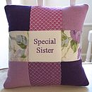 Special Sister Cushion