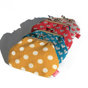 Bright Patterned Coin Purse - purses & wallets