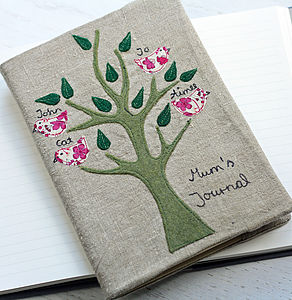 Personalised Family Tree Notebook