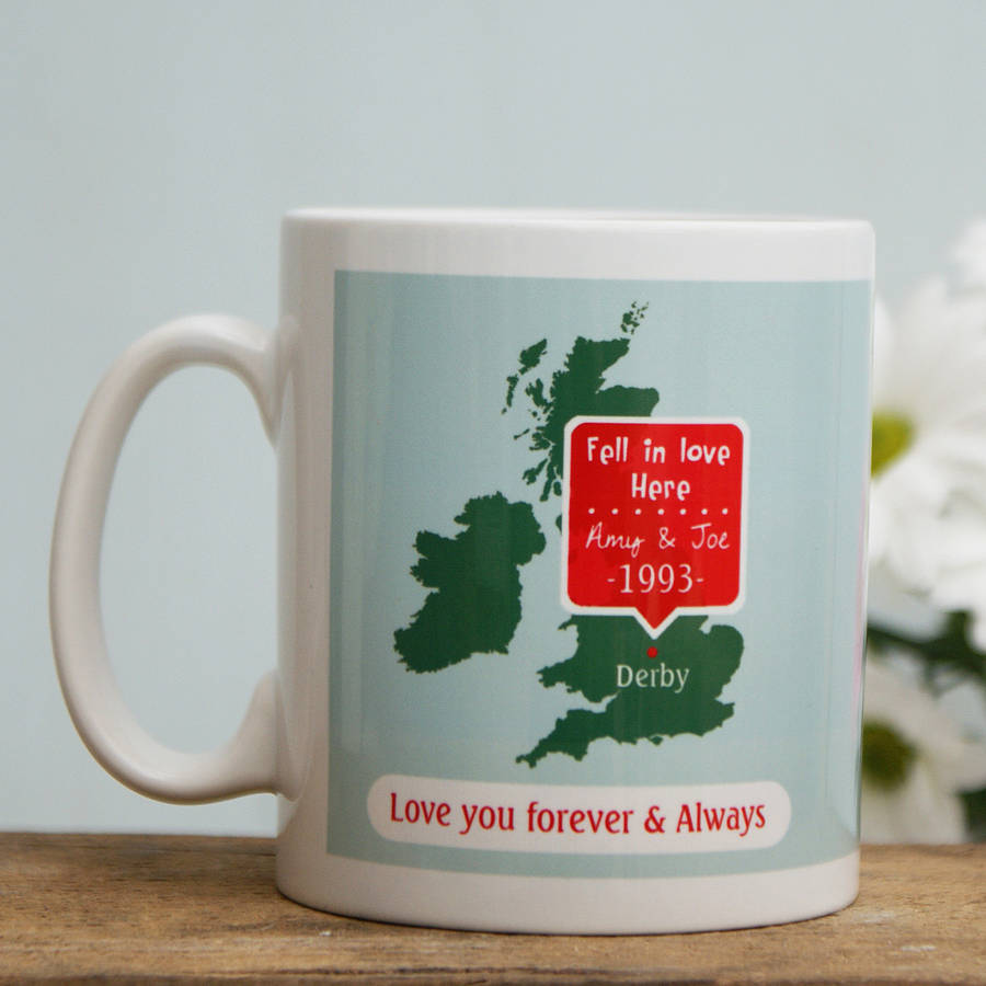 Sparks Living Personalised 'Our Special Place' Mug