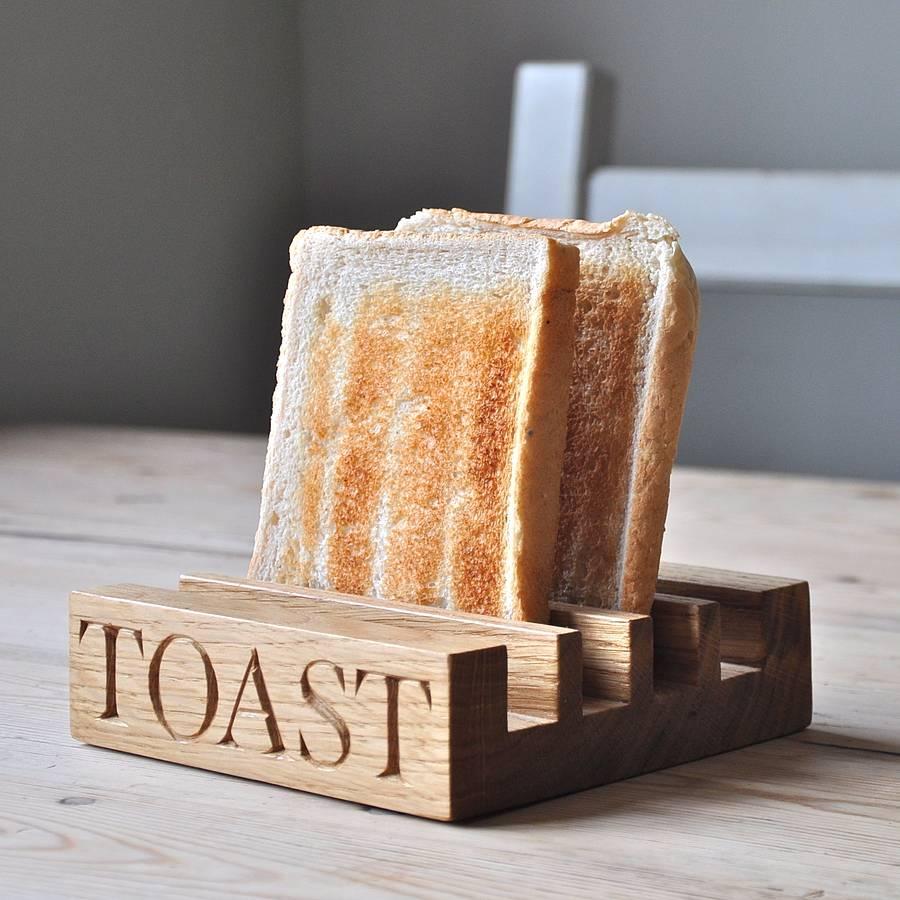 Oak Toast Rack By The Oak & Rope Company