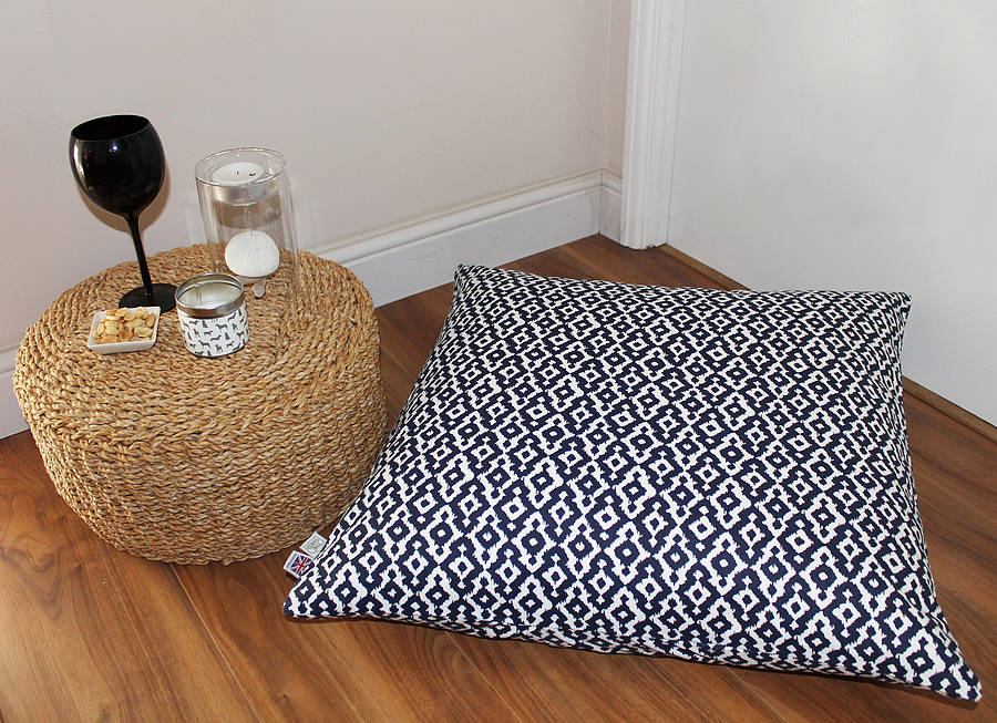 Floor Cushions By The Shed Inc Notonthehighstreet Com