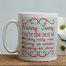 Personalised 'You Are The Best' Mug