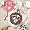 It's A Girl! Announcement Cake Stencil